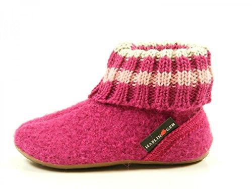 Haflinger Everest Pablo - Zapatillas de casa Unisex Niños Pink