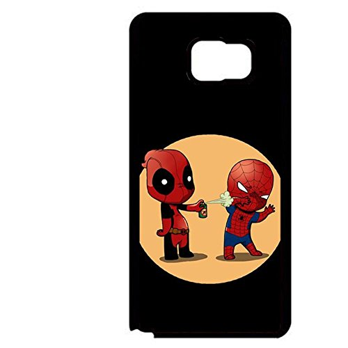 Funny Mini Cartoon Spider Man Phone Case Fantastic Phone Cover for Samsung Galaxy Note 5