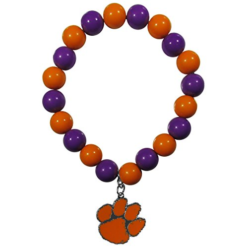 Siskiyou NCAA Clemson Tigers Fan Bead Stretch