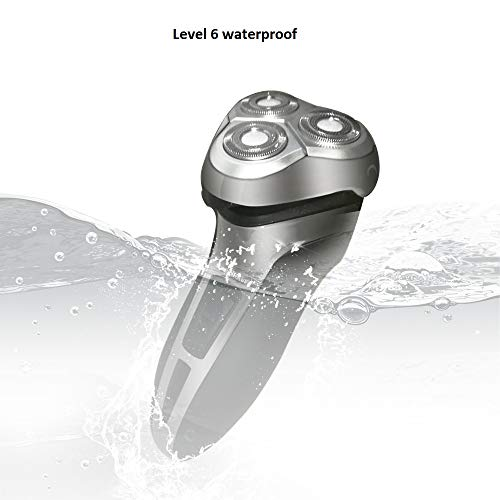 Electric Shaver/Razors for Men, Multi-Functional Wet & Dry Waterproof Cordless Travel Rotary Shaver