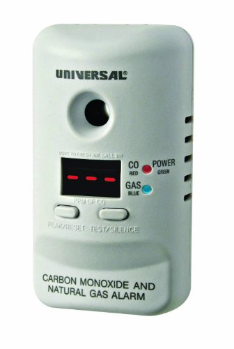 Universal Security Instruments MCND401B M Series Plug-In Carbon Monoxide and Natural Gas Alarm with 120-Volt Battery Backup