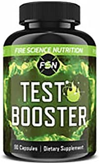 Fire Science Nutrition Testosterone Booster Metabolism Booster That Naturally Increases Endurance