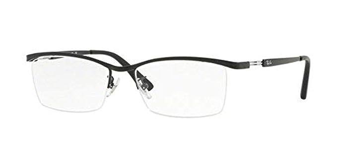 f766fbef901f Ray-Ban Men's 0RX 8746D 1074 55 Optical Frames, (Matte Black ...