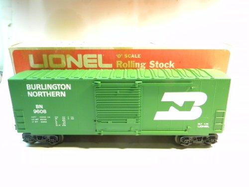 (Lionel 9608 Burlington Northern Hi-Cube Box Car)