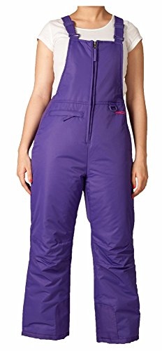 Arctix Youth Insulated Overalls Bib, X-Small, Purple