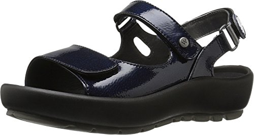 Wolky Women's Rio Blue Sandal by Wolky