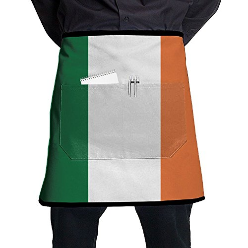 - Flag Of Ireland Men And Women Kitchen 3D Apron For Cooking, Baking, Crafting, Gardening, BBQ-Navy & Cream