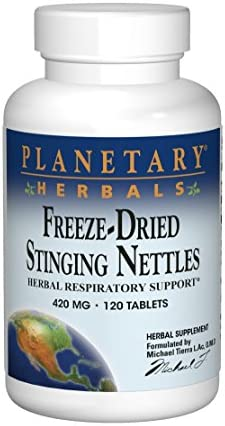Planetary Herbals Freeze-Dried Stinging Nettles 420mg – 120 Tablets
