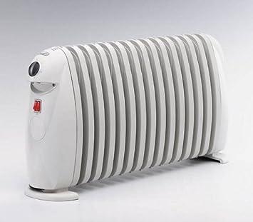 DeLonghi TRN1515 - Radiador de aceite con 15 elementos, 1500 W, color blanco