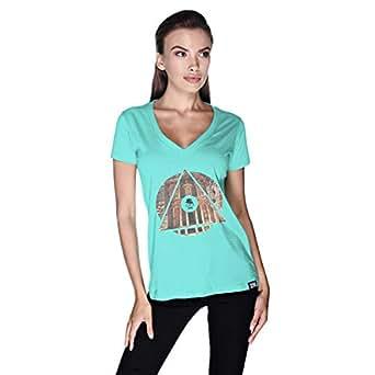 Creo Jordan T-Shirt For Women - Xl, Green
