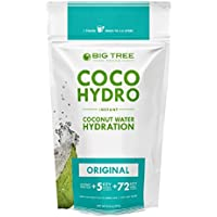 Big Tree Farms Coco Hydro Instant Coconut Water Mix, Vegan, Non-GMO, Gluten Free, Original Flavor, 9.7 Ounce Pouch