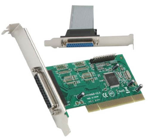 Smartti IO Syba SMT-SY-PCI10002 2 Ports PCI Parallel Expansion Controller Card