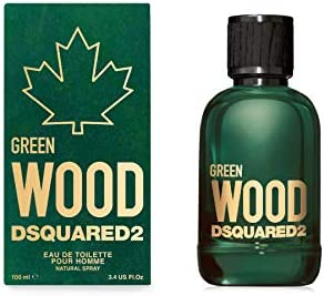 Dsquared2 Green Wood Pour Homme Edt Vapo 100 ml