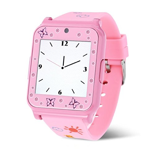 Original W90 Smartwatch Smartwatch Android Ios rosa: Amazon ...