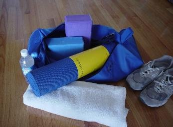 Bean Products Yoga Duffel - Sky Blue
