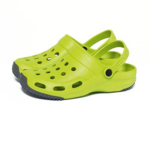 Garten Clogs Damen Gartenschuhe Schuhe Schlappen Sandalen Latschen Limone