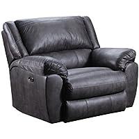 Simmons Upholstery 50433BR-195 Shiloh Granite Cuddler Recliner