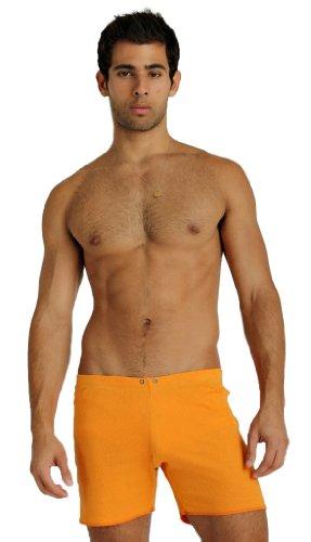 Silky Fusion - 4-rth Fusion Gym Short-Sun Orange-M