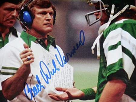 206184d48c0 Autographed Dick Vermeil Photograph - 8x10 framed & Matted) - ! -  Autographed NFL Photos at Amazon's Sports Collectibles Store