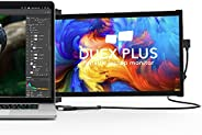 """Portable Monitor for Laptops, New Mobile Pixels Duex Plus 13.3"""" Full HD IPS Dual Laptop Monitor, USB C/US"""