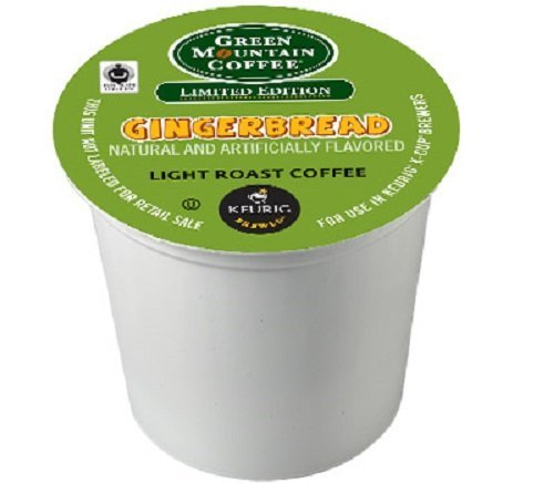 Green Mountain Coffee Fair Trade Gingerbread, K-Cup Portion Pack for Keurig Brewers 24-Count by Green Mountain Coffee (Keurig Gingerbread Coffee compare prices)