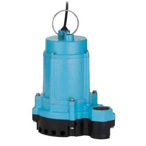Little Giant 506852 6EC Series 1/3 hp Manual Plastic Base Sump Pump by LITTLE GIANT