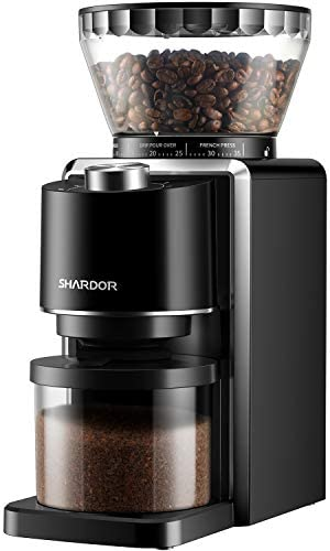 SHARDOR Conical Burr Coffee Grinder, Ele
