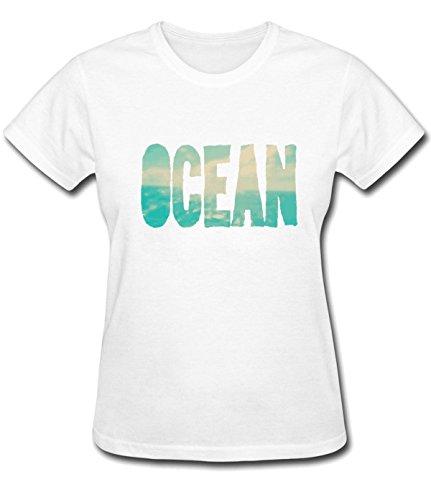 Ocean For Womens T Shirts L - Malls Philadelphia Outlet