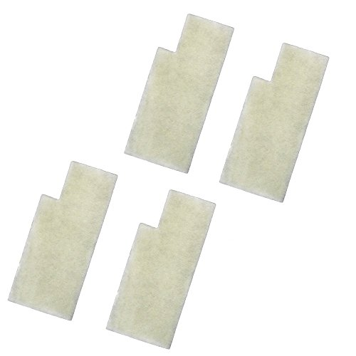 Filter Secondary Upright (HQRP 4-pack Secondary Filters for Hoover Anniversary Self-Propelled U6485900 U6485900B UH50000 UH50005B Bagged Upright Vacuums Coaster)