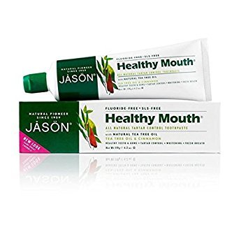 - Jason Healthy Mouth Toothpaste 119g (PACK OF 2)