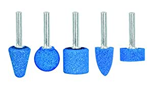 TRUPER JPM-5X Grinding Stone Set, High Performance. Power Tool. 5 Pack