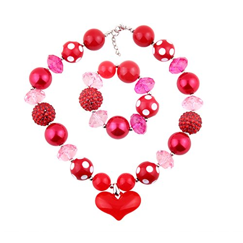 Chunky Heart Necklace - 4