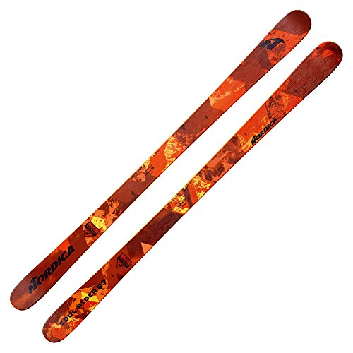 Twin Carbon Tip Skis (Nordica Soul Rider 87 Skis 2018-177cm)