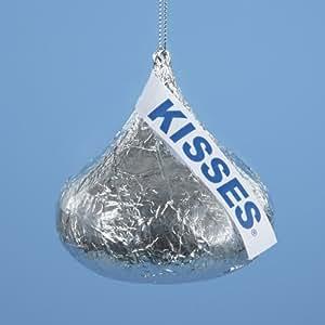"3.5"" Chocolate Shop Oversized Hershey's Kiss Christmas Ornament"
