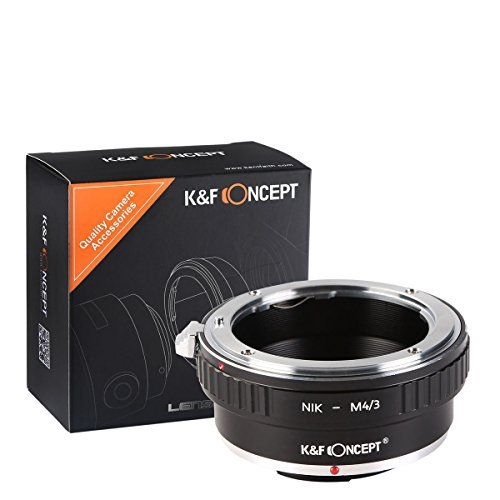 K&F Concept Lens Mount Adapter,Nikon AI Lens to Micro 4/3 Micro Four Thirds Mount Adapter For GF1 GF2 GF3 G2 G3