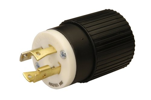 Reliance Controls L1430P 30-Amp 125/250 Vac Male Plug for Generator Cords ()
