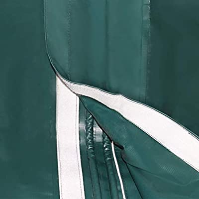 FZYHFA Carpa para Ganado portátil PVC Verde Oscuro 3, 3x12, 8 m, Carpa para Exterior: Amazon.es: Jardín
