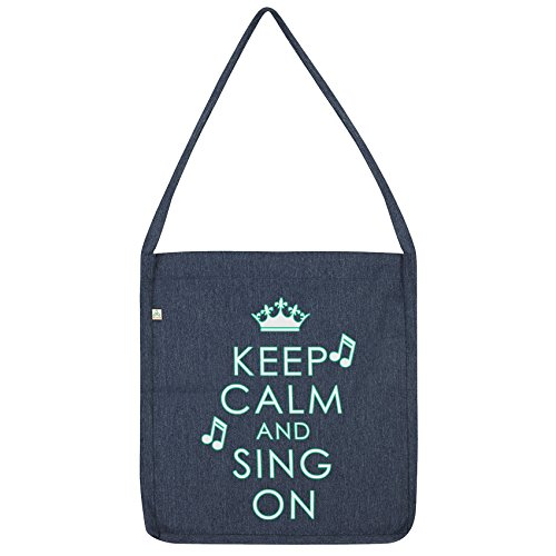 Twisted And Tote Bag Navy Envy Calm Sing Keep On 7nrAFx7
