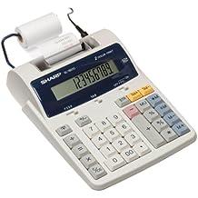 Sharp EL-1801C Semi-Desktop 2-Color Printing Calculator