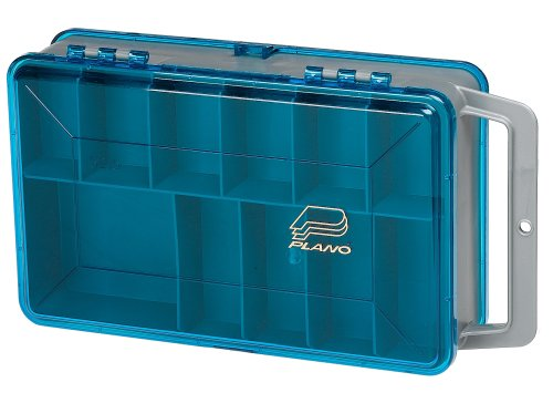 Plano small double sided tackle box plano beautil for Plano fishing box