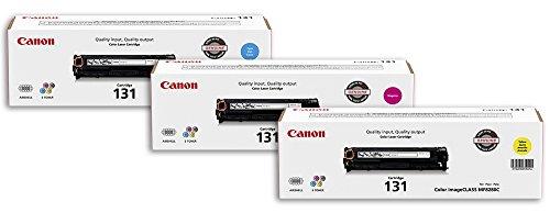 Canon Lasers GENUINE Toner 131 Color Bundle