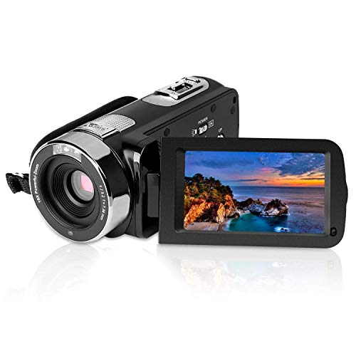 PowerLead 2.7″ LCD Screen Digital Video Camcorder Night Vision 24MP Camera HD Digital Camera