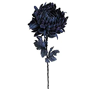 "Allstate 30"" Deepest Indigo Artificial Silk Floral Pick 7"