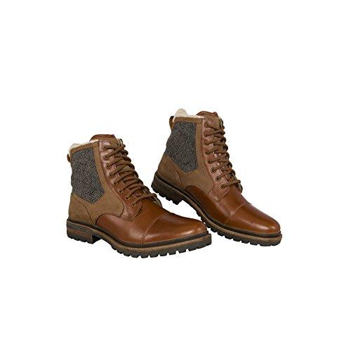 19v69 VERSACE 1969 Stivali invernali -HANDMADE - Stivali in pelle con Real merino-wolle-futter Marrone Chiaro