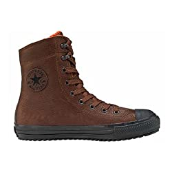 Converse Chuck Taylor All Star Leather High Top Chocolate Boots 1t533