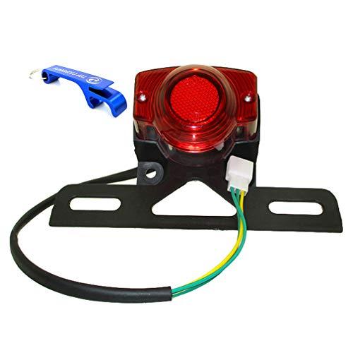 TC-Motor 12 Volt Tail light Taillight Rear Lamp For Honda Z50 Z 50 Z50JZ Monkey Bike Replace OEM Rare 33701-181-921
