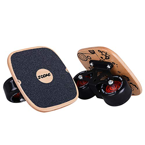 Zodae Portable Roller Road Drift Skates Plate with Cool Maple Deck Anti-Slip Board Split Skateboard with PU Wheels High-end Bearings (Single Pattern) by Zodae