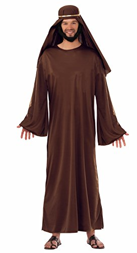 [Forum Men's Value Biblical Robe, Brown, X-Large] (Nativity Costumes Adults)