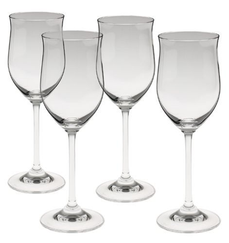 Marquis by waterford young white wine glasses set of 4 chickadee solutions - Waterford colored wine glasses ...
