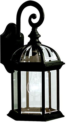 Kichler 9735bk barrie outdoor wall 1 light black wall porch kichler 9735bk barrie outdoor wall 1 light black aloadofball Image collections